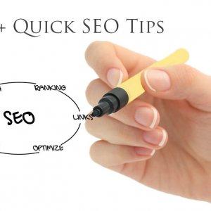 quick seo tips